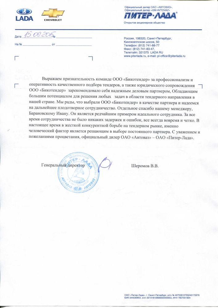 Отзывы о bicotender.ru - компания ООО Молния СБС
